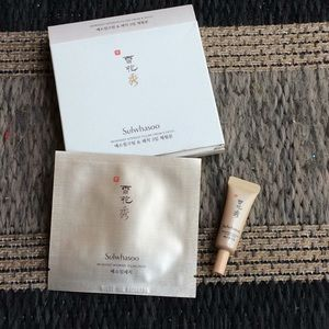 Sulwhasoo microdeep intensive filling cream +patch
